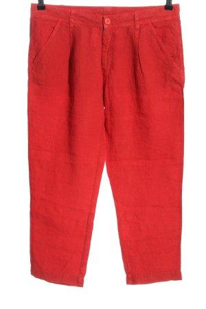 Tandem Pantalone a 3/4 rosso stile casual