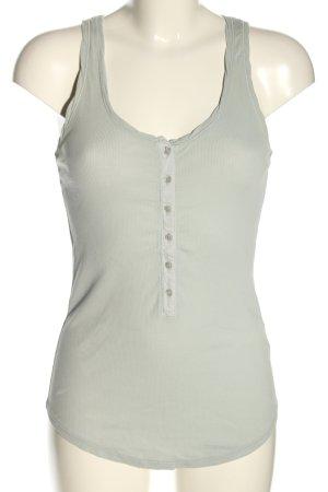 Tandem Top basic grigio chiaro stile casual