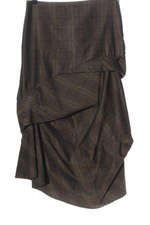 Tandem Maxi Skirt brown allover print casual look