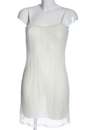 Tandem Mini Abito bianco stile casual