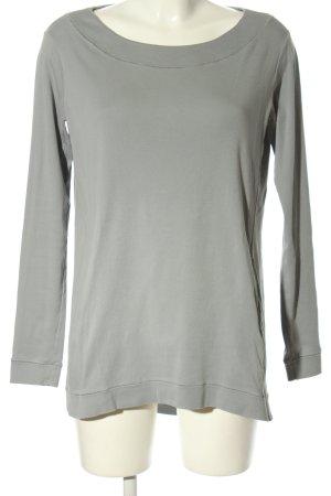 Tandem Camicia oversize grigio chiaro stile casual