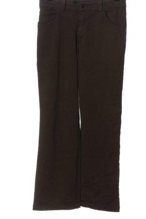 Tandem Pantalone jersey marrone stile casual