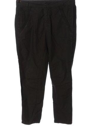 Tandem Pantalone jersey nero stile casual