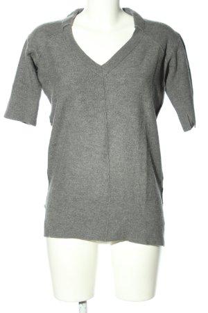 Tandem Camicia maglia grigio chiaro puntinato stile casual