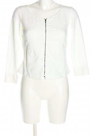Tandem Giacca fitness bianco stile casual