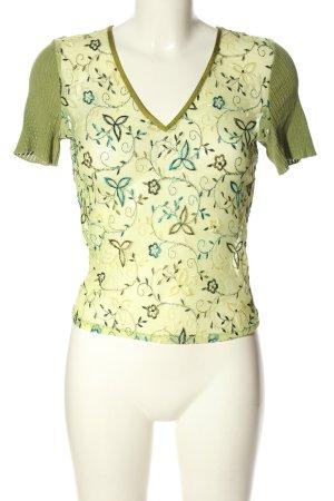 Tandem V-Ausschnitt-Shirt