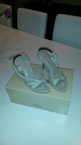 Tango Sandaletten beige Größe 39, 10 cm Absatz