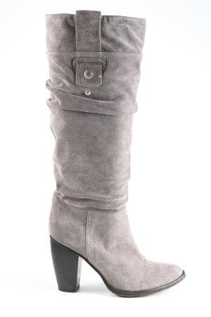 Tango Bottes plissées gris clair style décontracté