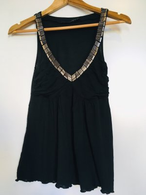 Tank top, Abend Top, Sommer Abend Glitzer Top