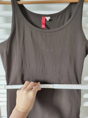Tank Top ärmelloses T-Shirt braun Gr. XS ungetragen