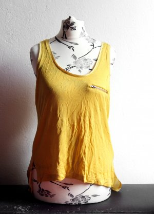 Cherry Koko Tank Top yellow polyester