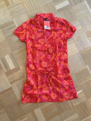 Aerie Camiseta sin mangas rojo frambuesa-amarillo claro Algodón