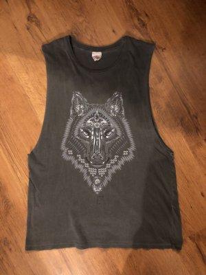 obey Muscle Shirt dark grey