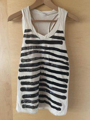 Zara Tank Top black-white