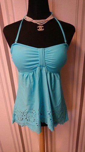 Jasenia Tankini turquoise polyester