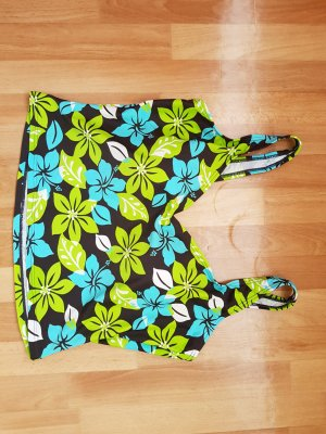 Basic Line Swimsuit multicolored polyester