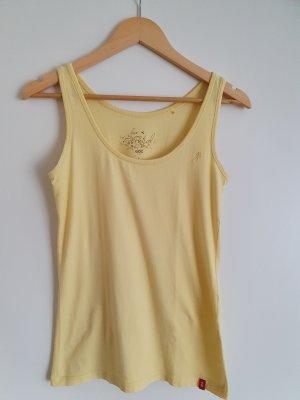 edc by Esprit Camiseta sin mangas amarillo
