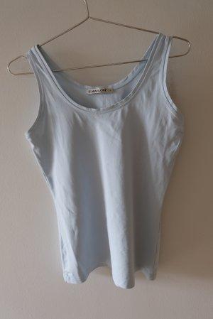 S.Marlon Basic Shirt light blue polyester