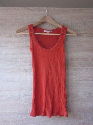 Tally Weijl Tank Top red mixture fibre
