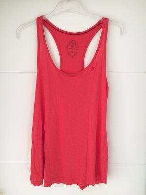 Edc Esprit Camiseta sin mangas rojo-rojo ladrillo Viscosa