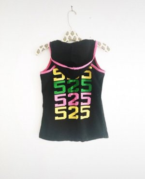 tanktop • hoodie • trainingsshirt • vintage • sportswear • schwarz