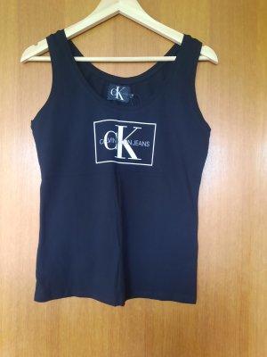 Calvin Klein Jeans Tanktop czarny