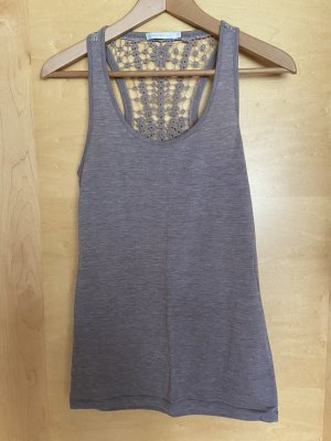 Only Tank Top grey brown