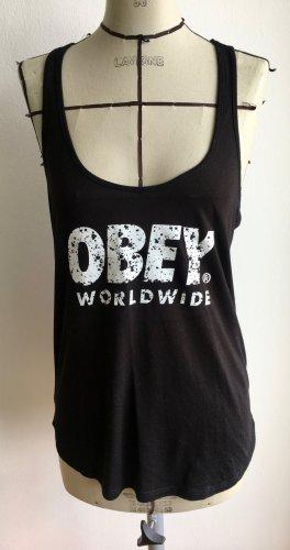 Tanktop mit Print von Obey