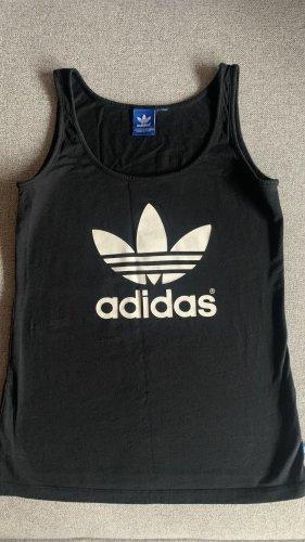 Adidas Tanktop zwart-wit