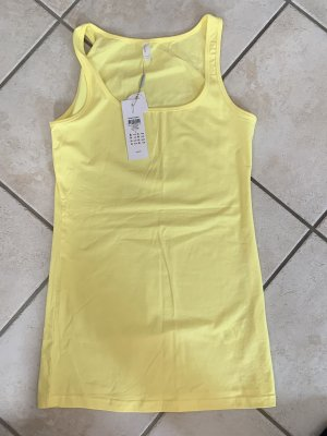 Vero Moda Camiseta sin mangas amarillo