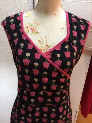 Betsy Robe portefeuille multicolore coton