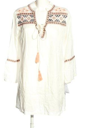 Tantra Długa bluzka biały W stylu casual