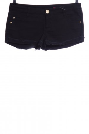Tantum O.N. Hot Pants schwarz Casual-Look