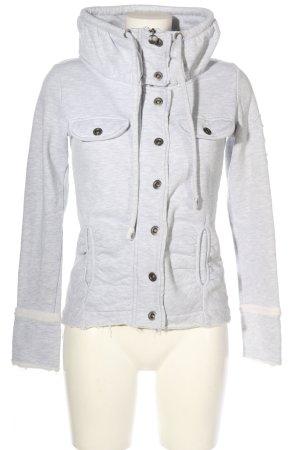Tantum O.N. Sweat Jacket light grey flecked casual look