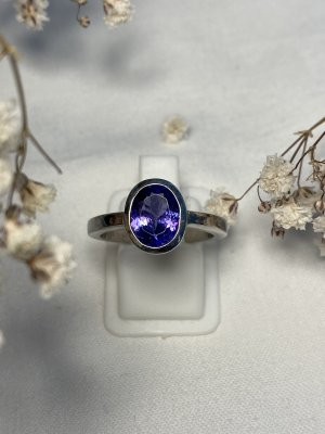 Tanzanit Ring