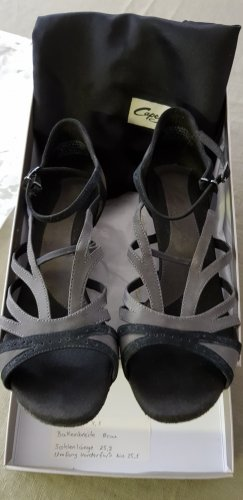 CAPEZIO Strapped High-Heeled Sandals anthracite