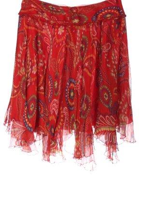 Tara jarmon Flared Skirt abstract pattern casual look