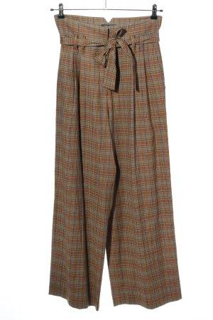 Tara jarmon Hoge taille broek geruite print casual uitstraling