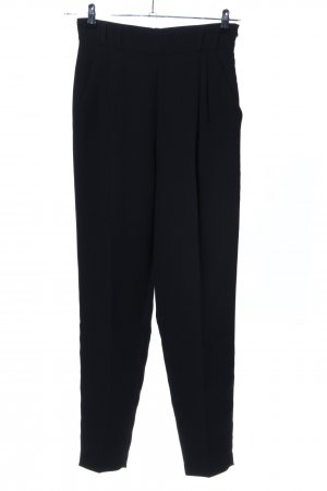 Tara jarmon High-Waist Hose schwarz Business-Look