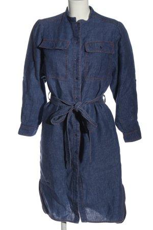 Tara jarmon Jeansowa sukienka niebieski Melanżowy W stylu casual