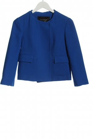 Tara jarmon Korte blazer blauw zakelijke stijl
