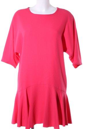 Tara jarmon Kurzarmkleid pink Elegant