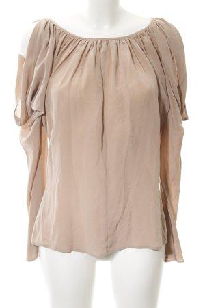 Tara jarmon Langarm-Bluse roségoldfarben Casual-Look