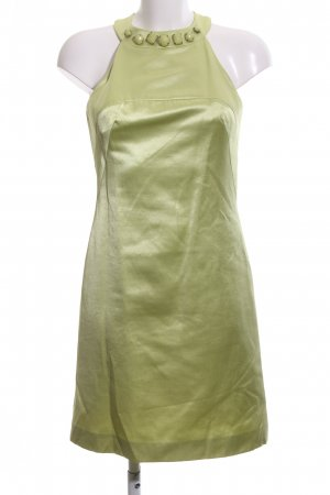 Tara jarmon schulterfreies Kleid grün Elegant