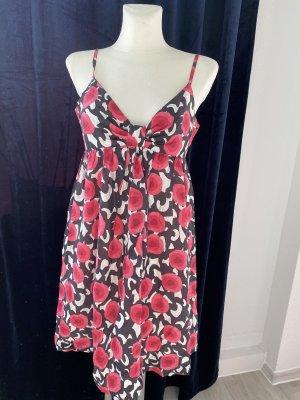 Tara jarmon Seide Kleid Mini Sommer pink floral 42