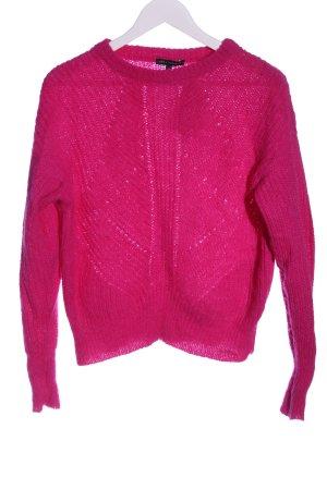 Tara jarmon Pull en laine rose style décontracté