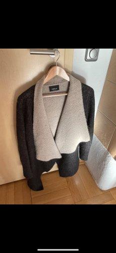 Zara Knit Wool Jacket multicolored