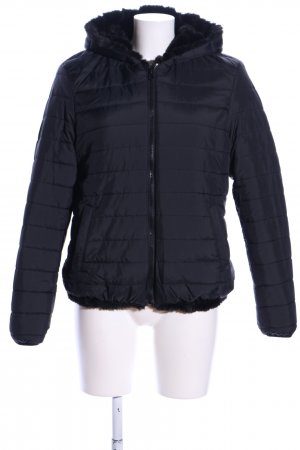 Target Reversible Jacket black quilting pattern casual look