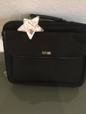 Target Laptop bag black nylon