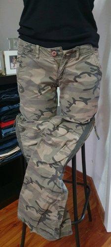 Cordon Pantalon kaki gris vert